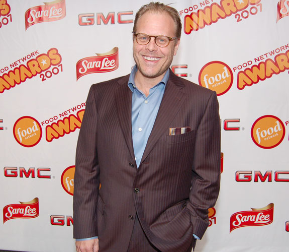 Alton Brown on the red carpet at the first Food Network Awards Show at the Jackie Gleason Theater on Miami Beach, Fla.