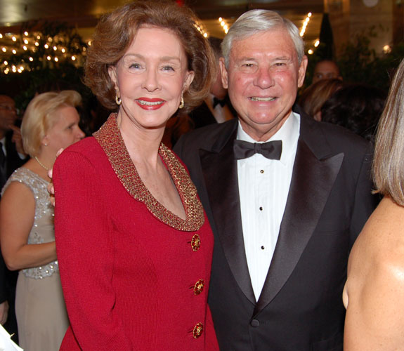 Former U.S. Senator Bob Graham, D-Fla., and his wife, Adele, at the Make-A-Wish Foundation of Southern Florida's annual Intercontinental Ball.